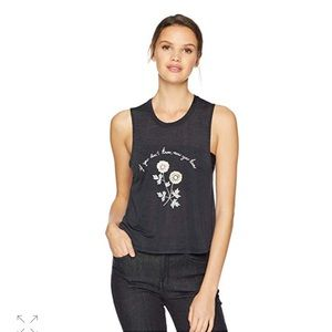 NWT Spiritual Gangster Don't know Crop tank